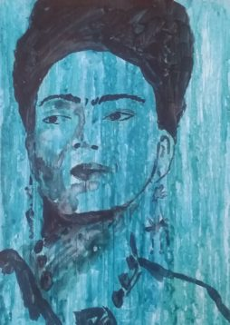 Frida Casein by Rhonda Murray