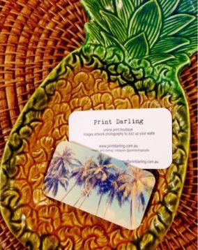 Print Darling businesscard