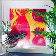 Sista Bling, 300mm square in frame