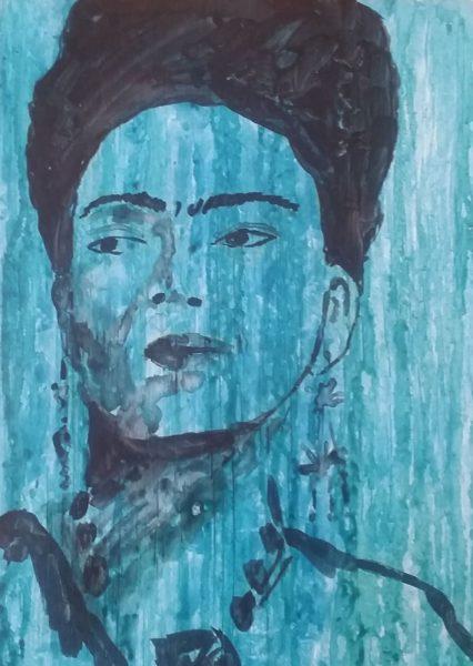 Frida Casein by Rhonda Murray