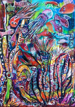 Great Barrier Reef by Auguste Blackman