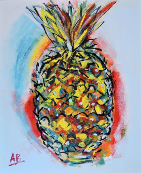 Pineapple Fizz by Auguste Blackman